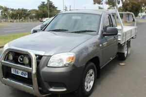 2011 Mazda BT-50 UNY0W4 DX Grey 5 Speed Manual Cab Chassis