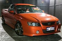 2006 Holden Ute VZ MY06 Thunder SS Orange 6 Speed Manual Utility Wangara Wanneroo Area Preview