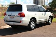 2013 Toyota Landcruiser VDJ200R MY13 Sahara Crystal Pearl 6 Speed Automatic Wagon The Gardens Darwin City Preview