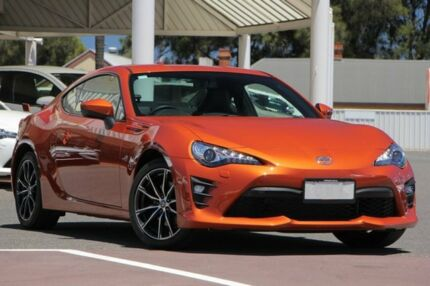 2017 Toyota 86 ZN6 GTS Velocity Orange 6 Speed Sports Automatic Coupe Christies Beach Morphett Vale Area Preview