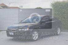 2008 Mitsubishi Lancer CJ MY08 ES Black 6 Speed Constant Variable Sedan South Launceston Launceston Area Preview