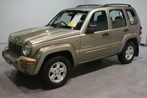 2003 Jeep Cherokee KJ MY2003 Limited Gold 4 Speed Automatic Wagon Old Guildford Fairfield Area Preview