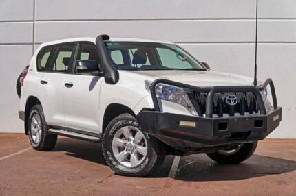 2015 Toyota Landcruiser Prado KDJ150R MY14 GX White 5 Speed Sports Automatic Wagon Maddington Gosnells Area Preview