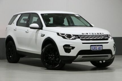 2017 Land Rover Discovery Sport LC MY17 TD4 150 HSE 5 Seat White 9 Speed Automatic Wagon Bentley Canning Area Preview