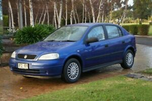 2005 Holden Astra TS Classic Blue Pearl 4 Speed Automatic Sedan Blair Athol Port Adelaide Area Preview