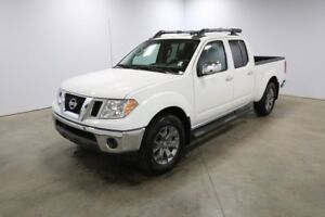 2018 Nissan Frontier 4X4 SL CREW CAB SUNROOF, LEATHER SEATS, HEA