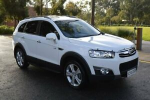 2013 Holden Captiva CG Series II MY12 7 AWD LX White 6 Speed Sports Automatic Wagon Norwood Norwood Area Preview