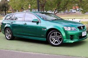 2009 Holden Commodore VE MY10 SV6 Sportwagon Green 6 Speed Sports Automatic Wagon Berwick Casey Area Preview