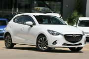 2015 Mazda 2 DJ2HAA Genki SKYACTIV-Drive White 6 Speed Sports Automatic Hatchback Moorooka Brisbane South West Preview