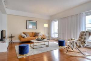 Luxurious Penthouse -Downtown-Ensuite Laundry gym and terrace!
