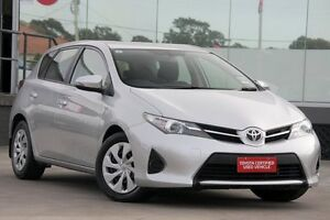 2013 Toyota Corolla ZRE182R Ascent Silver Pearl 7 Speed CVT Auto Sequential Hatchback Old Guildford Fairfield Area Preview