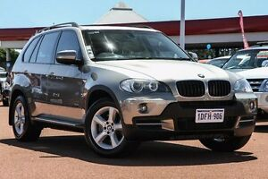 2008 BMW X5 E70 MY09 xDrive30d Steptronic Executive Silver 6 Speed Sports Automatic Wagon East Rockingham Rockingham Area Preview