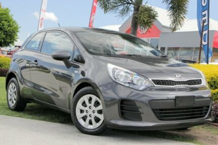 2015 Kia Rio UB MY15 S Grey 4 Speed Sports Automatic Hatchback