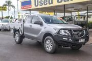 2015 Mazda BT-50 UP0YF1 XT Freestyle Silver 6 Speed Sports Automatic Cab Chassis Gympie Gympie Area Preview