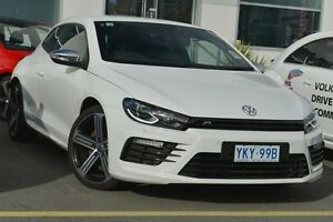 2015 Volkswagen Scirocco 1S MY16 R Coupe Pure White 6 Speed Manual Hatchback Phillip Woden Valley Preview