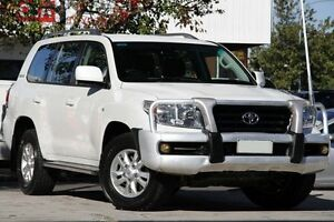 2010 Toyota Landcruiser VDJ200R MY10 60th Anniversary Crystal Pearl 6 Speed Sports Automatic Wagon Adelaide CBD Adelaide City Preview