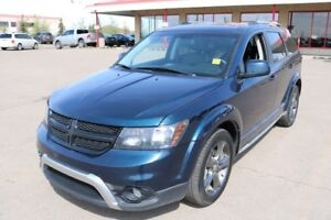2015 Dodge Journey AWD CROSSROAD Accident Free,  Leather,  3rd R