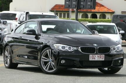 2014 BMW 420d F32 M Sport Black 8 Speed Sports Automatic Coupe Nundah Brisbane North East Preview