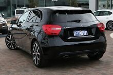 2014 Mercedes-Benz A200 W176 D-CT Black 7 Speed Sports Automatic Dual Clutch Hatchback Osborne Park Stirling Area Preview