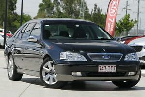 2007 Ford Fairlane BF Ghia Black 6 Speed Sports Automatic Sedan Brendale Pine Rivers Area Preview