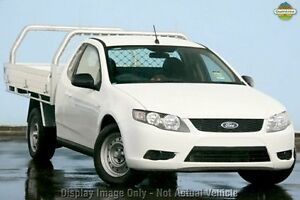 2010 Ford Falcon FG Super Cab White 4 Speed Sports Automatic Cab Chassis Balcatta Stirling Area Preview