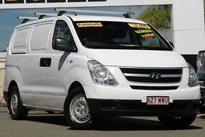 2008 Hyundai iLOAD TQ-V White 5 Speed Sports Automatic Van Springwood Logan Area Preview