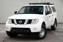 2012 Nissan Navara D40 S6 MY12 RX White 5 Speed Automatic Utility Frankston Frankston Area Preview