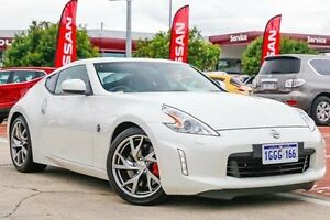 2016 Nissan 370Z Z34 MY15 White 7 Speed Sports Automatic Coupe Victoria Park Victoria Park Area Preview