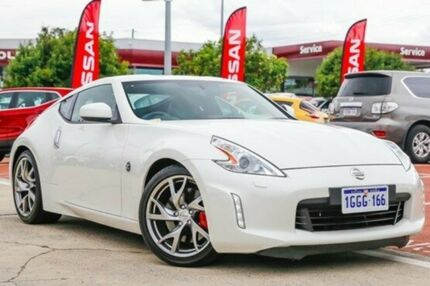 2016 Nissan 370Z Z34 MY15 White 7 Speed Sports Automatic Coupe