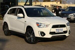 2014 Mitsubishi ASX White Constant Variable Wagon St James Victoria Park Area Preview