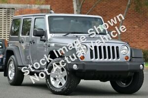 2015 Jeep Wrangler JK MY2015 Unlimited Sport Silver 5 Speed Automatic Softtop Minchinbury Blacktown Area Preview