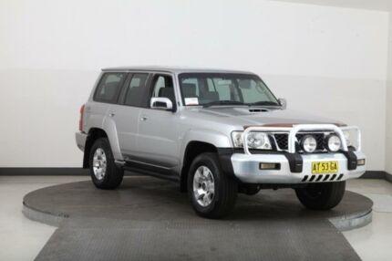 2005 Nissan Patrol GU IV ST (4x4) Silver 5 Speed Manual Wagon Smithfield Parramatta Area Preview