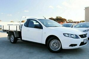 2010 Ford Falcon White Sports Automatic Cab Chassis Dandenong Greater Dandenong Preview