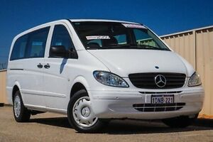 2010 Mercedes-Benz Vito 639 MY10 115CDI Long White 5 Speed Automatic Wagon Pearsall Wanneroo Area Preview