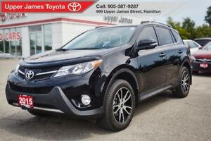 2015 Toyota RAV4 Limited - Loaded NAV & Leather!