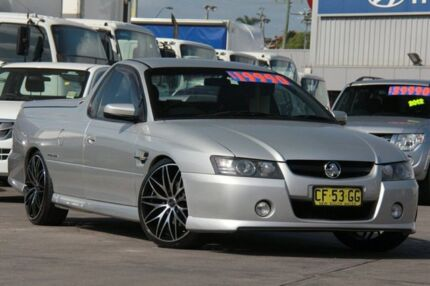 2006 Holden Commodore VZ MY06 SS Thunder Silver 6 Speed Manual Utility Arncliffe Rockdale Area Preview