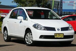 2007 Nissan Tiida C11 ST White 4 Speed Automatic Sedan Zetland Inner Sydney Preview