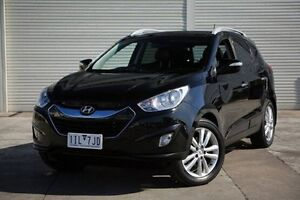 2012 Hyundai ix35 LM2 Highlander AWD Black 6 Speed Sports Automatic Wagon Seaford Frankston Area Preview