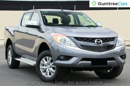 2015 Mazda BT-50 UP0YF1 GT Grey 6 Speed Sports Automatic Utility Osborne Park Stirling Area Preview