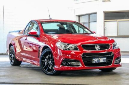 2014 Holden Ute VF SS-V Redline Red 6 Speed Manual Utility Cannington Canning Area Preview