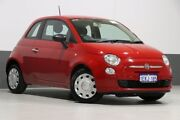 2014 Fiat 500 MY13 POP Red 5 Speed Manual Hatchback Bentley Canning Area Preview