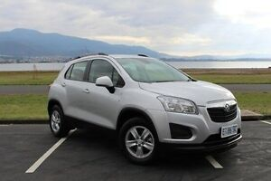 2015 Holden Trax TJ MY15 LS Silver 6 Speed Automatic Wagon Invermay Launceston Area Preview