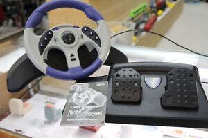 ** MADCATZ ** GamCube Racing Wheel