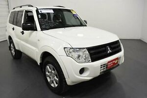 2014 Mitsubishi Pajero NW MY14 GLX LWB (4x4) White 5 Speed Auto Sports Mode Wagon Moorabbin Kingston Area Preview