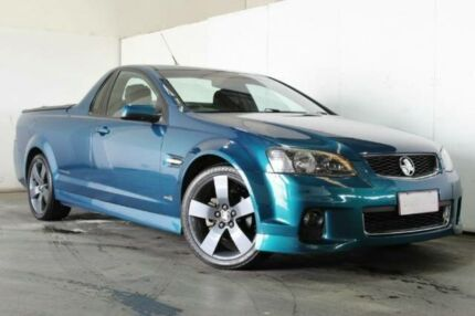 2012 Holden Ute VE II MY12 SV6 Blue Manual Utility Underwood Logan Area Preview