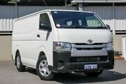 2015 Toyota Hiace TRH201R MY15 LWB White 5 Speed Manual Van Cannington Canning Area Preview