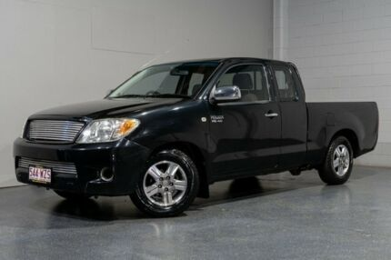 2006 Toyota Hilux GGN15R SR5 Black 5 Speed Automatic X Cab Pickup Woodridge Logan Area Preview