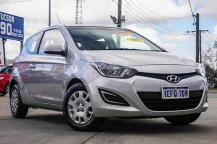 2012 Hyundai i20 PB MY12 Active Sleek Silver 4 Speed Automatic Hatchback Bellevue Swan Area Preview