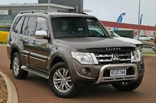 2012 Mitsubishi Pajero NW MY12 Exceed Grey 5 Speed Sports Automatic Wagon East Rockingham Rockingham Area Preview
