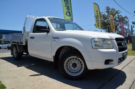 2007 Ford Ranger PJ XL White Manual Cab Chassis Mulgrave Hawkesbury Area Preview